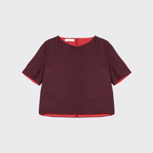 T-shirt Zola Bordeaux